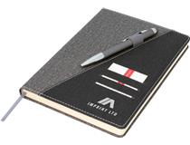 Ottawa A5 Notebook, Black/Grey